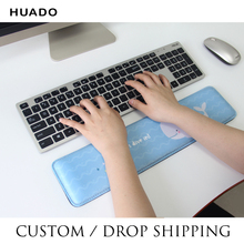 купить Keyboard Wrist Rest Pad Mouse Wrist Rest Pad Ergonomic Soft Foam Set Comfort Mouse Pad For Office Computer Laptop dropshipping дешево