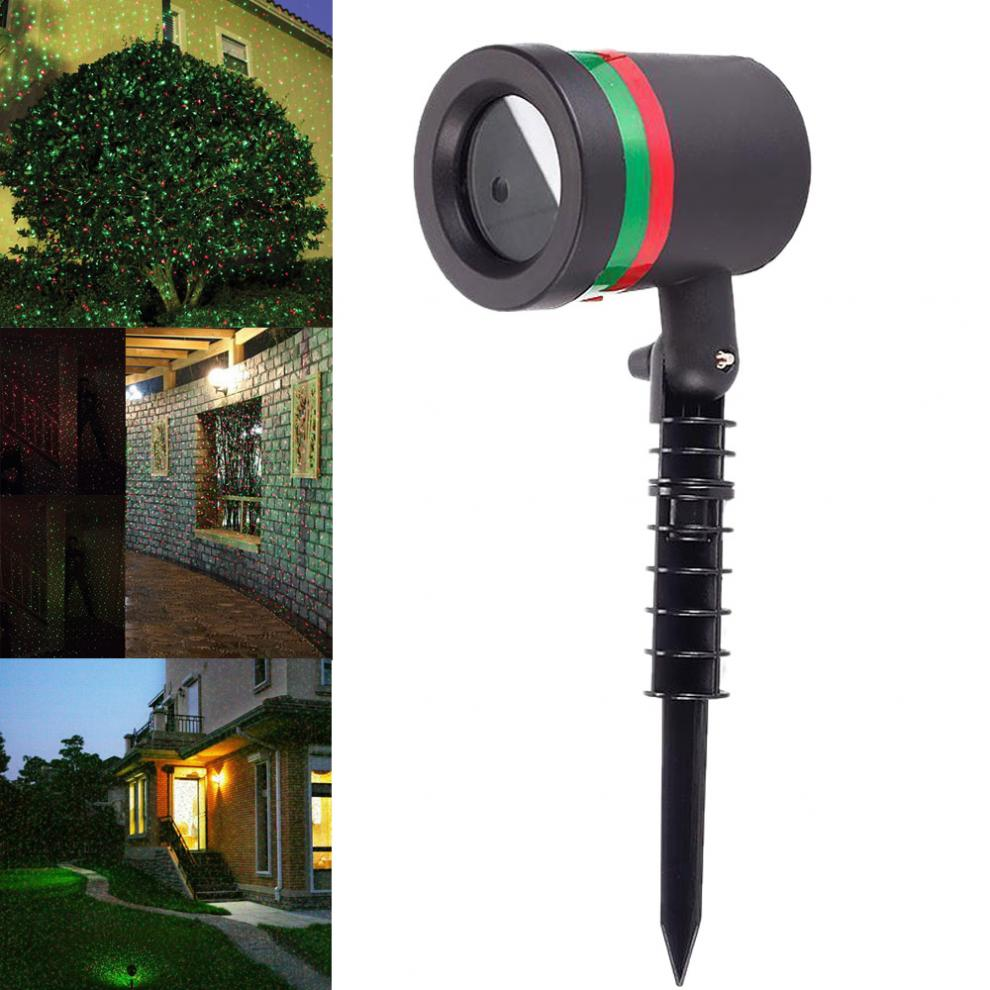 Waterproof Outdoor Garden Tree Moving Laser Projector LED Stage Light Christmas Lights
