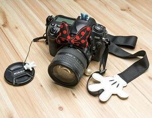 Image 5 - Nice câmera e alça de proteção do pescoço minnie, correia protetora, correia para câmera, para canon, nikon, sony, pentax, fujifilm, samsung, panasonic, leica