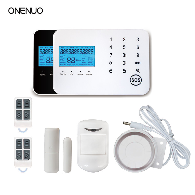 wireless and wired sensors contact Security Burglar Gsm Alarm System Home Security Free Shippingwireless and wired sensors contact Security Burglar Gsm Alarm System Home Security Free Shipping