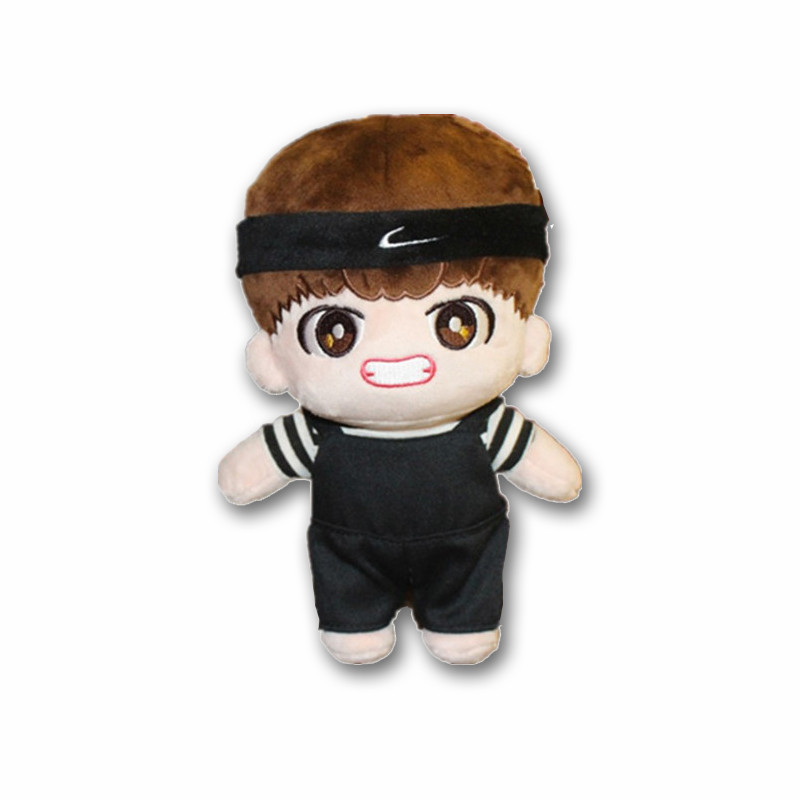 KPOP BTS Bangtan Boys Handmade Kim Tae Hyung Characters Plush Toy Stuffed Doll Fans Gift Craft Collection