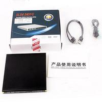 Black Slim USB 3 0 External BD Blu Ray DVD RW DVD DL CD RW Drive