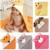 Luvable Friends Animais bonitos do bebê com capuz de Banho do bebê toalha de banho para crianças Cobertores Crianças infantil de banho Roupão de banho