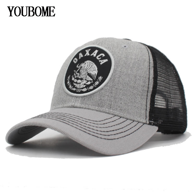 YOUBOME Fashion Snapback Baseball Caps Women Mesh Summer Hat Brand Hats For Men Hip hop MaLe Bone Casquette Dad Cap Baseball Hat
