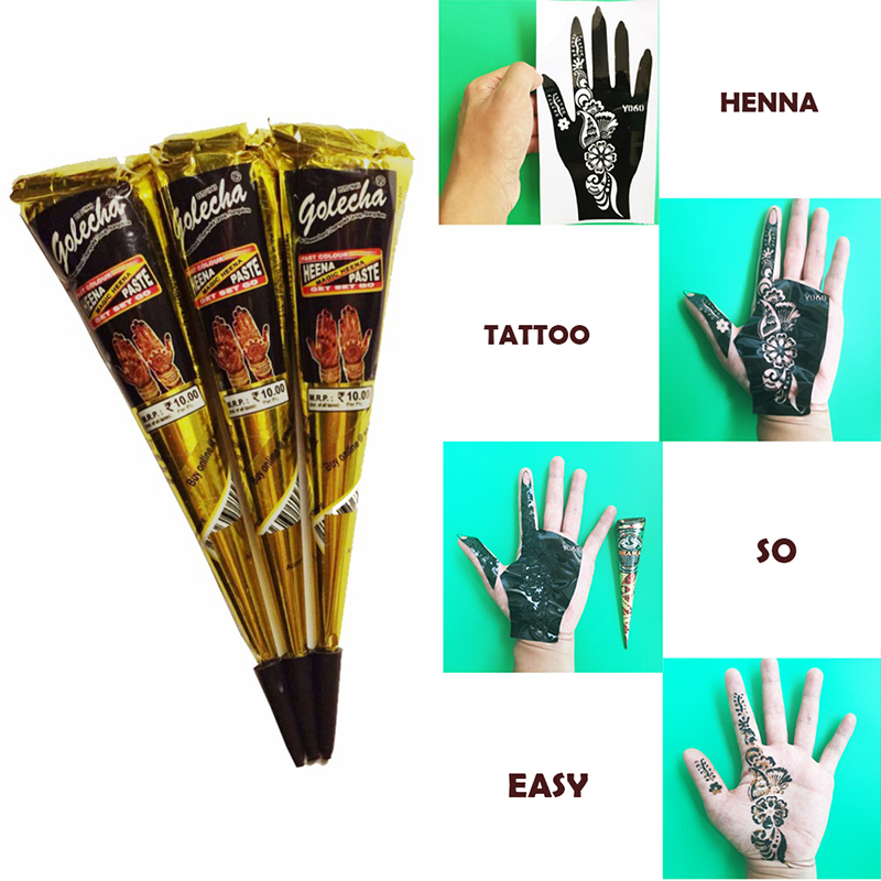 Henna Ink Kit: Online Buy Wholesale Henna Tattoo Kit From China Henna