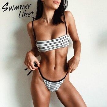 Brazilian micro bikini top String swimsuit push up sexy swimwear women bathing suit Summer bathers High cut thong bikini 2019 swimsuit top