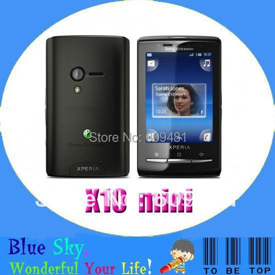 Sony Ericsson mini X10 E10i Robyn Quad band original cell phone