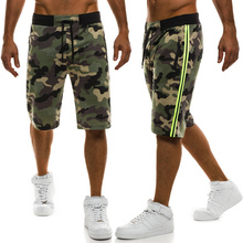 ZOGAA 2019 Hot Mens Gym Fitness Cotton Camouflage Shorts Run Jogging Outdoor Sports Quick Dry Bodybuilding Workout Sweatpants