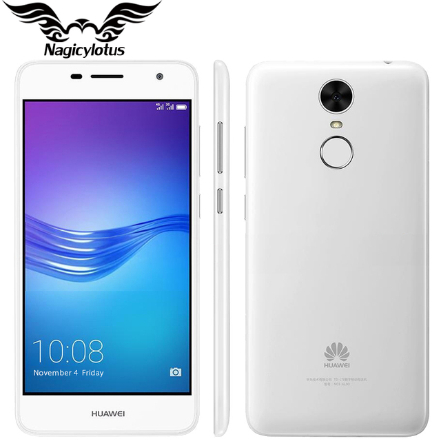 Оригинал huawei enjoy 6 4 г lte мобильный телефон окта ядро 3 ГБ RAM 16 ГБ ROM Android 6.0 5.0 дюймов 13.0MP Камера 4100 мАч Отпечатков Пальцев