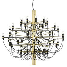 Modern Silver Gold 18/30/50 Heads Design Pendant Lights for Home Hotel