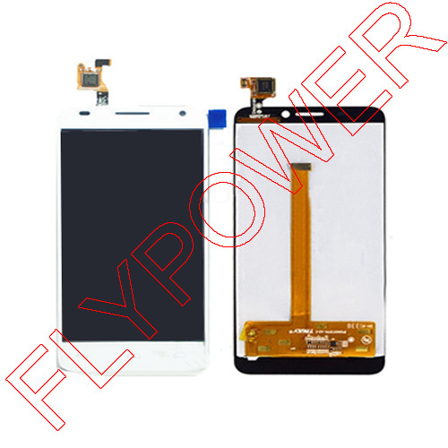 LCD Display +Digitizer touch Screen For Alcatel One Touch Idol S 6034 OT6034 6034R 6034Y 6034M White By free shipping
