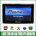 5 polegada HD SISTEMA OPERACIONAL CE 6.0 Navegação do GPS do Carro CPU 800 MHZ FM/4 GB/DDR3 128 M Novos Mapas Para A Europa/EUA/Rússia MTK MS2531 veículo Navi