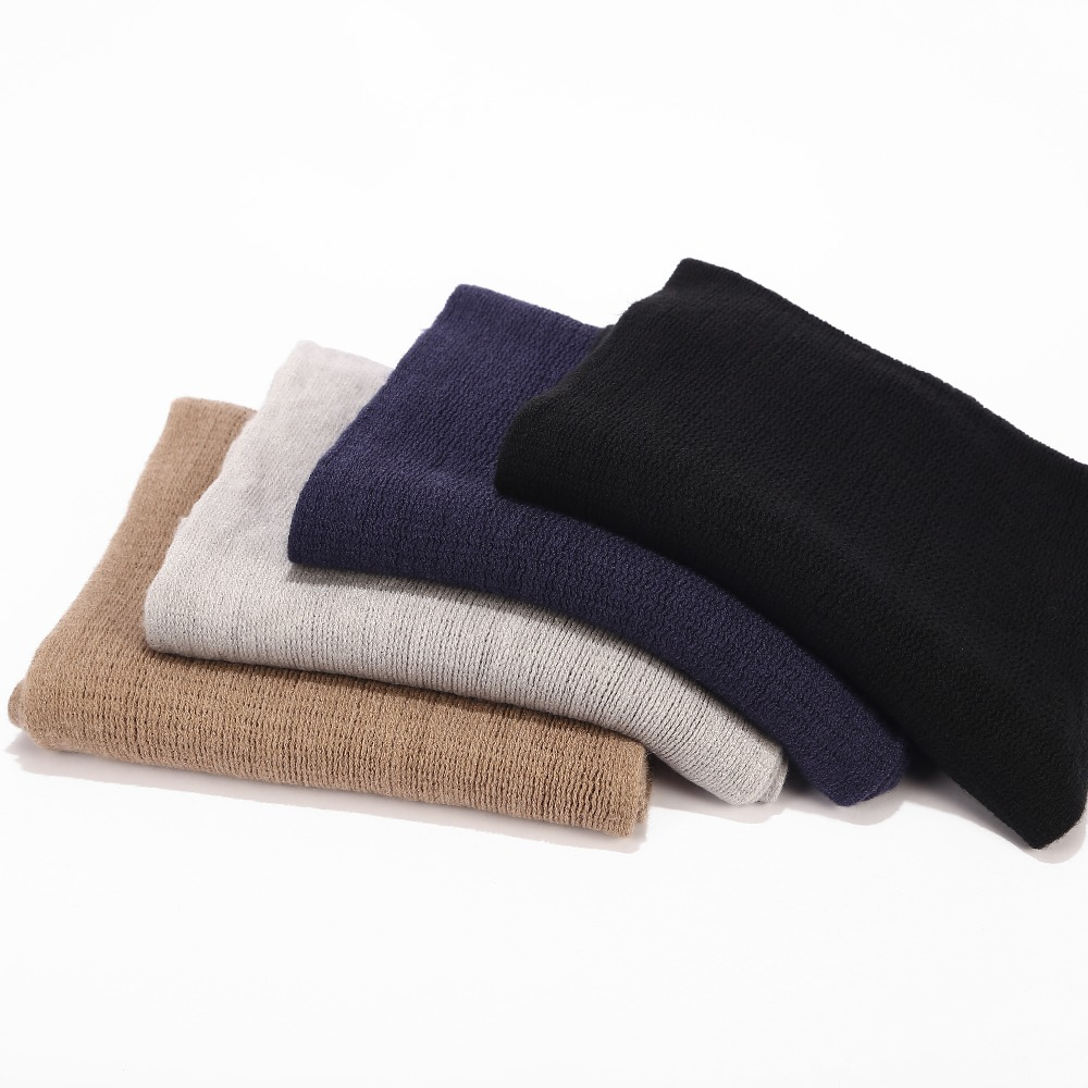 Scarf Winter Cashmere Warm Knit Male Long-Size Thick Autumn Spring Men