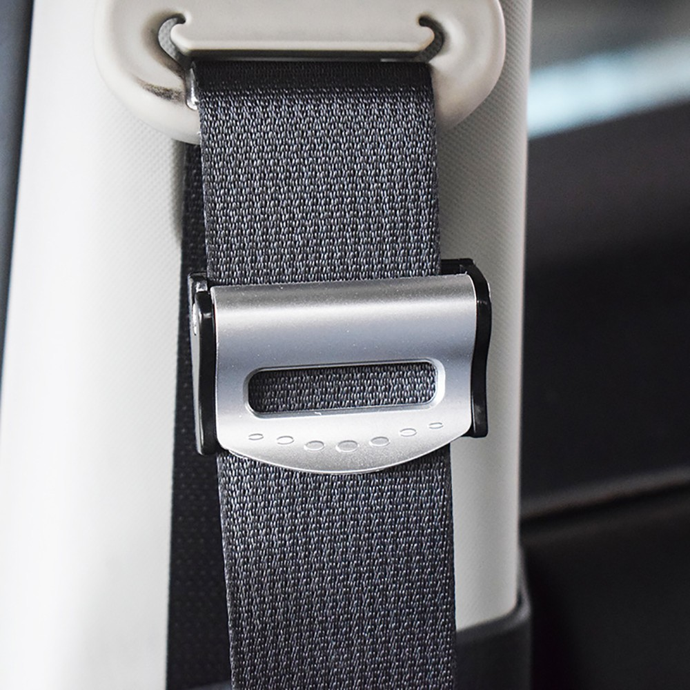 7//8 Metal Tongue Width Regular 10 Seat Belt Accessory Extender 2-Pack E-Mark Safety Certification Buckle Up and Drive Safely Again Black Type A
