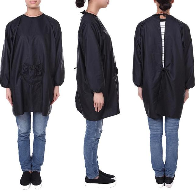 Hairdresser Cape Gown Cloth Cutting Hair Waterproof Salon Barber Hairdressing Whole Au4