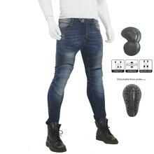 VOLERO JES-17 джинсы с перьями черные мужские джинсы для езды на мотоцикле защита мото брюки съемный протектор беговые штаны