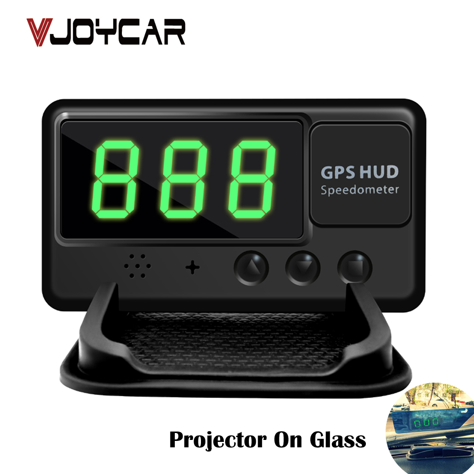 VJOYCAR C60 Universal font b GPS b font HUD Speed odometer Head UP Display Digital font