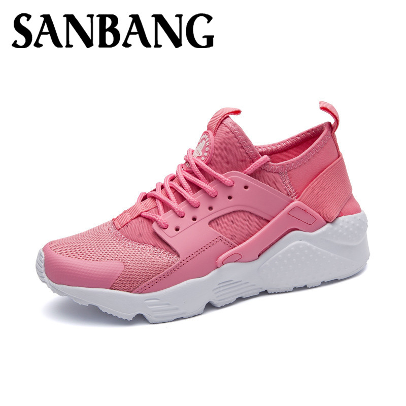 Spring PU Leather Shoes Woman Comfortable Women Causal Pink Shoes Ladies Platform Flat Shoes UnisexFootwear Plus Size 36-45 mx3
