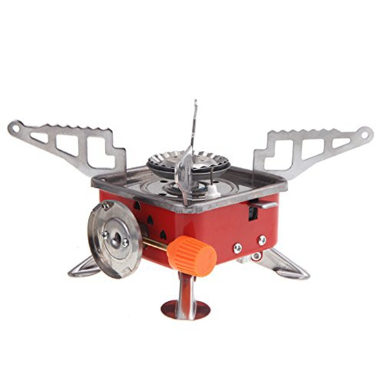 Outdoor Portable Stove Cooker Gas Stove for Camping Picnic Cookout BBQ