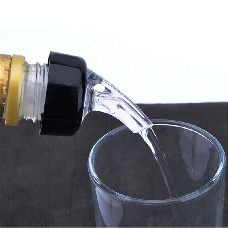 6Pcs Quick Shot Spirit Measure Bottle Drink Pourer Wine Cocktail Dispenser UK
