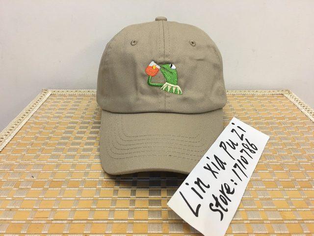 SAD KERMIT TEA Hat Pepe the sad meme frog Twitter famous dank meme hat slide buckle_640x640q90 online shop sad kermit tea hat pepe the sad meme frog twitter