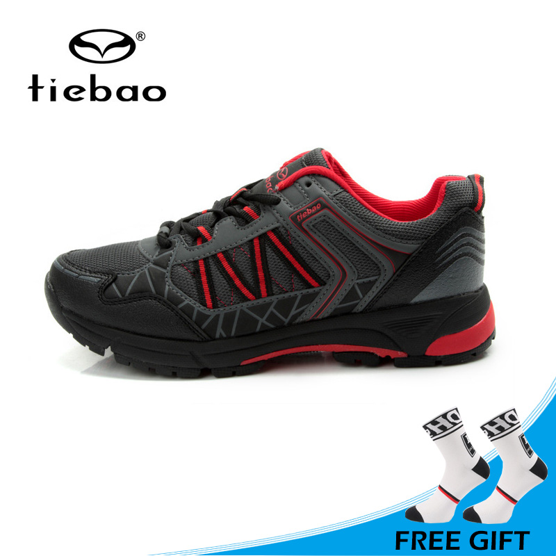 Tiebao High Quality Cycling Shoes Non slip Mountain Bike Shoes MTB Breathable Athletic Bicycle Shoes Sapatos ciclismo