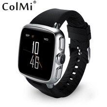 Colmi smart watch vs107 android 5.1 3g wifi sim einbauschlitz vibration pulsmesser push-nachricht bluetooth verbinden smartwatch