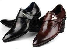 2017 Мода мужская квартиры коричневый загар/черный мужская повседневная бизнес обувь из натуральной кожи мужские туфли с пряжкой свадьбы обувь