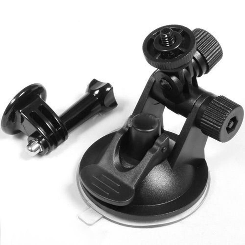 Centechia Top Quality Free shipping Suction Cup Car Use + 7Cm Diameter Base Mount For Gopro Hero 1 2 3 Mini Car