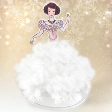 2019 110mm H 5 Asst. Hot DIY Magic Growing Paper Princess Tree Magical Grow Dress Trees Arbol Magico Science Kids Christmas Toys 2019 12x8cm hot white magic growing paper snowflake tree magical grow snowflakes flutter crystals snowman trees flakes kids toys