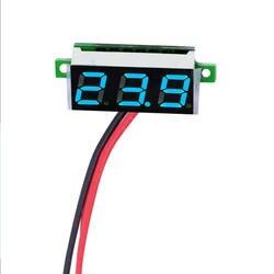 Мини цифровой вольтметр Напряжение метр тестер 0,28 дюймов 2,5 V-30 V светодиодный Экран электронный Запчасти аксессуары Цифровой вольтметр