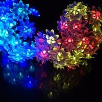 22M 200LED Home And Garden LED Solar Lotus String Lights Garlands Event S Halloween Hotels Bars