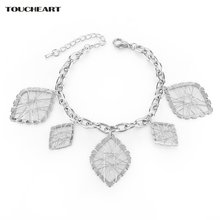 Toucheart ручной работы романтические ретро золотые браслеты