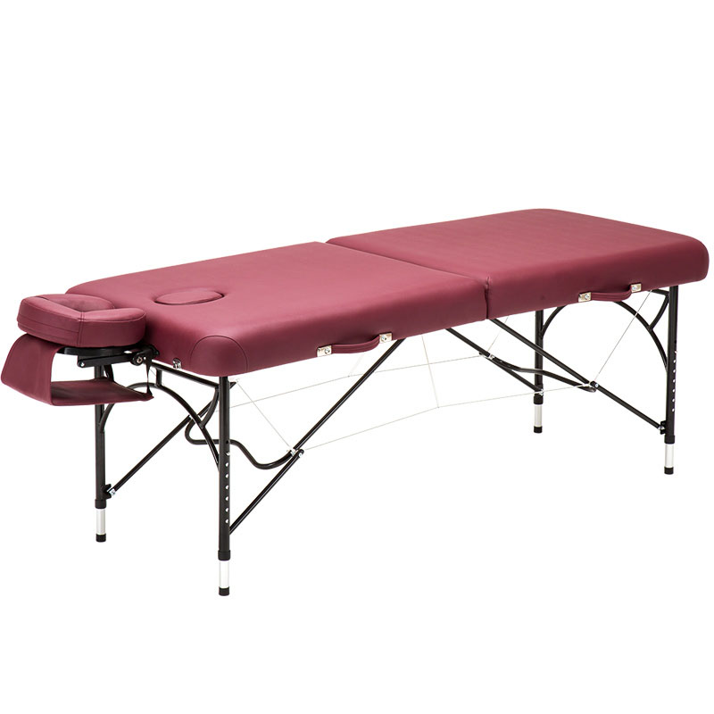 Portable Folding Aluminum Massage Bed Fire Therapy Home Beauty Physiotherapy Tattoo Bed Frame Multicolor