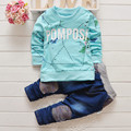 New arrival baby boys clothing set kids sports suit children tracksuit boy' long shirt + pants jogging sweatshirt casual clothes