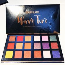Beauty Glazed Matte Eyeshadow Pigment Palette Cosmetics Professional Eyeshadow Palette Glitter Eyeshadow Palette Maquillage Yeux hydra beauty gel yeux chanel