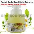 De 500 ml córneo Gel esfoliante Facial de corpo morto remover a pele equipamentos de beleza