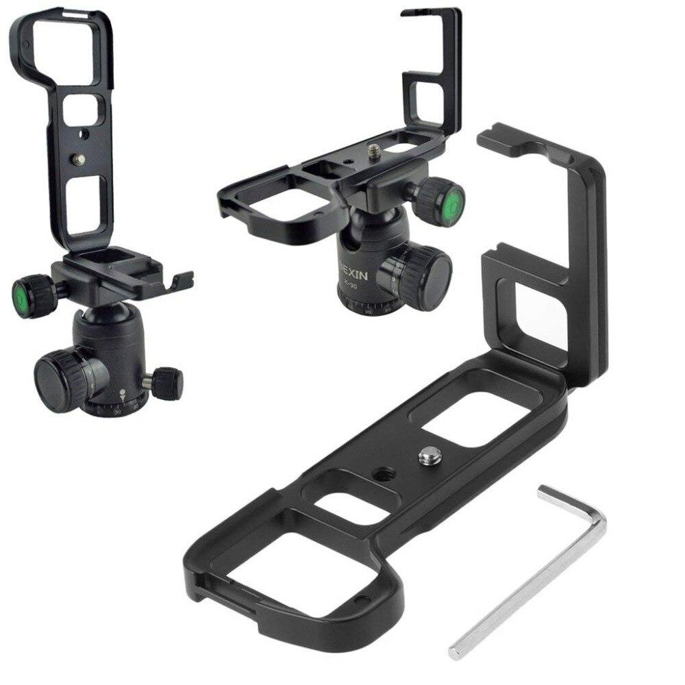 Quick Release L Plate Bracket Holder Hand Grip For Sony Alpha A7 II / A7S II / A7R II Digital Camera For Arca Swiss Tripod Head