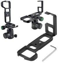 سريعة الإصدار L بلايت القوس حامل قبضة اليد لسوني ألفا A7 II/A7S II/A7R II كاميرا رقمية ل أركا السويسرية ترايبود رئيس