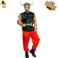 New Arrival Men's Orc Pirate Man Costume Role Play Viking Pirate Outfits Masquerade Carnival Party Costume