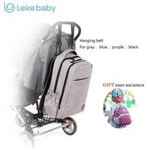 Grande Capacité À Dos De Maternité Nappy Diaper Sacs À Dos Pour Voyage Multifonctionnel Mère Maman Maman Bébé Bebe Sacs Maternidade