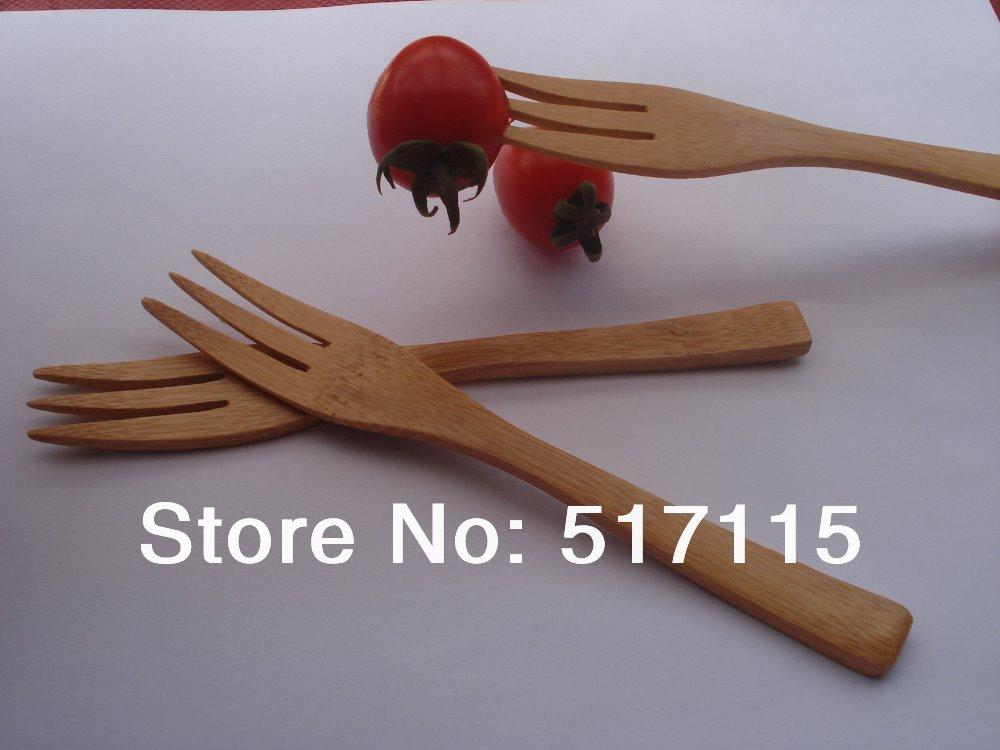 high grade bamboo fruit fork pasta fork noodle salad fork forks green reusable western food. Black Bedroom Furniture Sets. Home Design Ideas