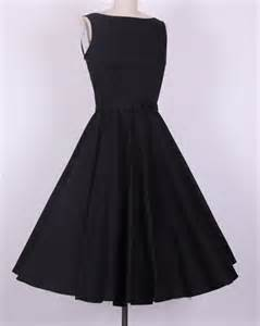 Fast shipping black dresses womens 50 style retro vintage Replica designer clothes uk