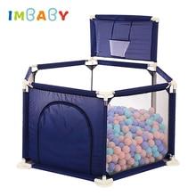 IMBABY детский манеж для детей Бассейн шарики игрушка манеж для 0-6 лет мяч бассейн для ребенка забор детская палатка шатер шар бассейн