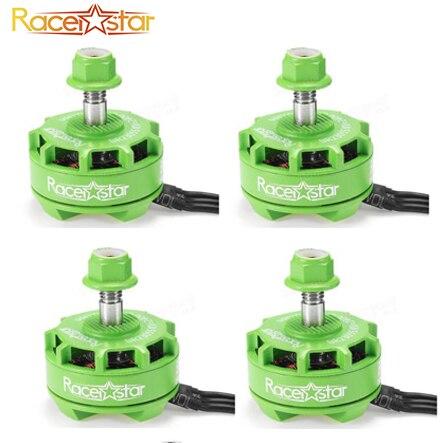 Racerstar 2207 BR2207S verde/rojo edición 1600KV 2200KV 2500KV 3-6 S de Motor sin escobillas para RC modelos de Multicopter marco DIY ACC