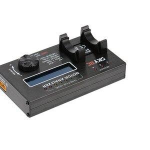 Image 1 - SkyrcブラシレスモータBMA 01アナライザkv電圧bpmアンプタイミングチェッカーテスターrcカーモーター用液晶表示画面スカイ