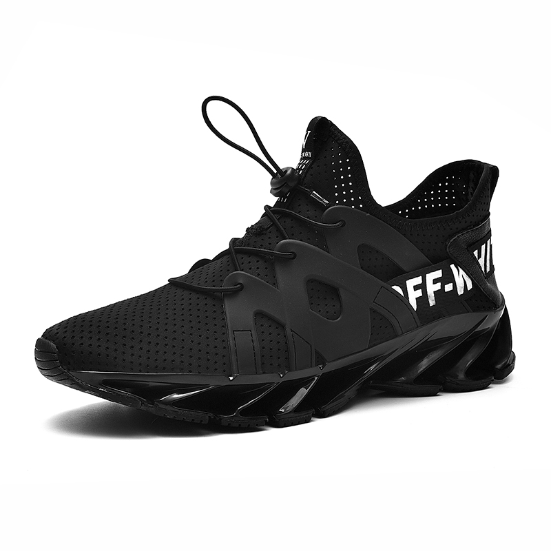 New Breathable Sneakers for men Summer Shoes Mesh Mens Shoes Casual - Men's Shoes