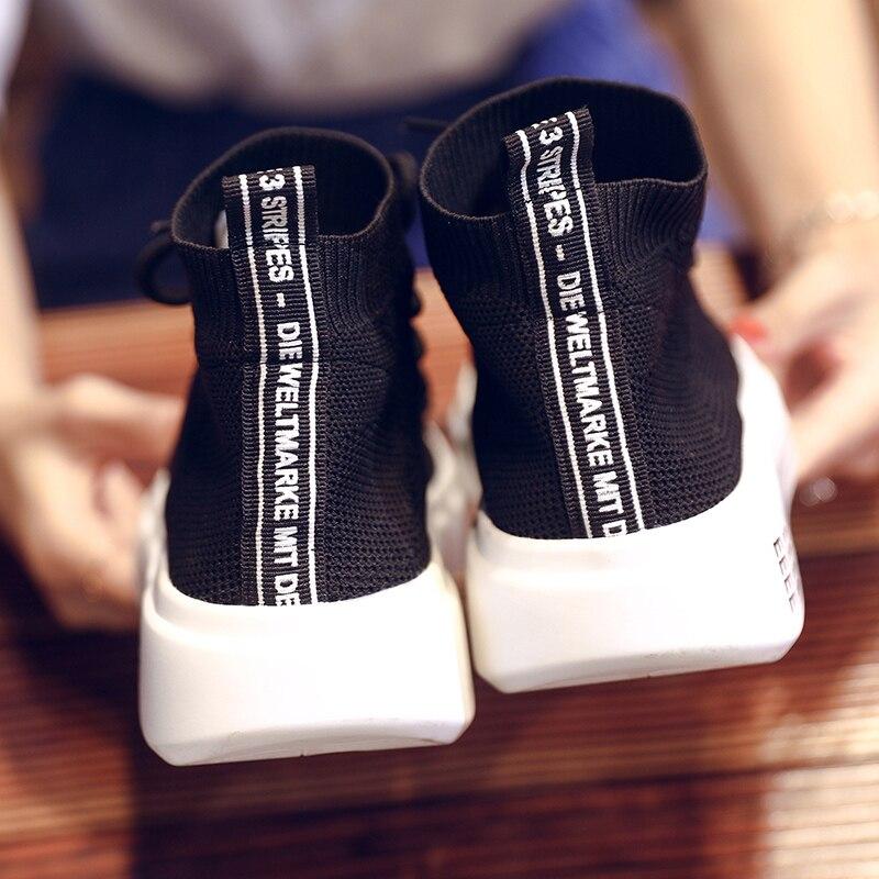 tenis feminino respirável sapatos casuais femininos