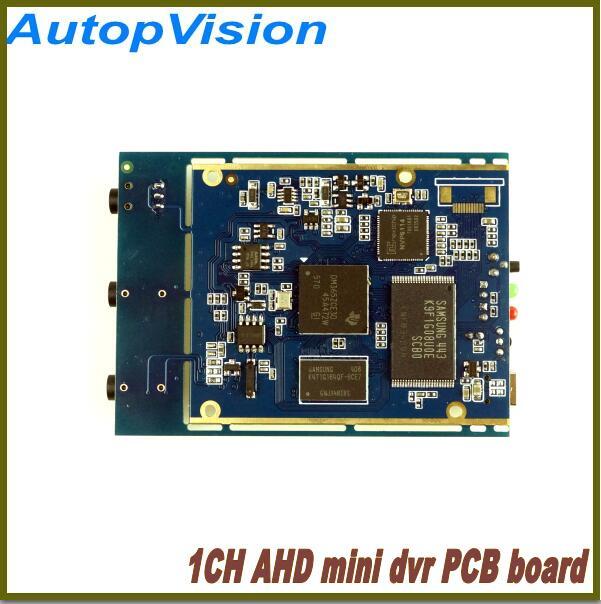 1 pièces livraison gratuite en temps réel 1CH Mini AHD XBOX DVR carte PCB jusqu'à (1280*720 P) 30fps prise en charge 128 GB carte sd