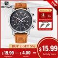 BENYAR Watches Men Luxury Brand Quartz Watch Fashion Chronograph Watch Reloj Hombre Sport Clock Male Hour Relogio Masculino